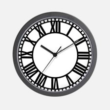 Town Clock Wall Clock