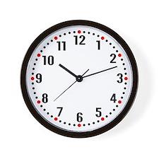 Analogue Numerals Wall Clock