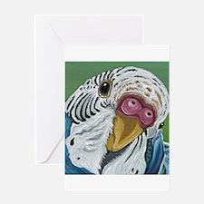 Budgie Parakeet Greeting Cards