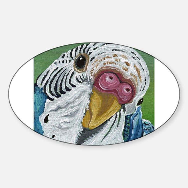 Budgie Parakeet Decal