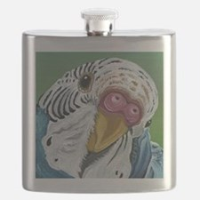 Budgie Parakeet Flask