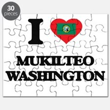 I love Mukilteo Washington Puzzle