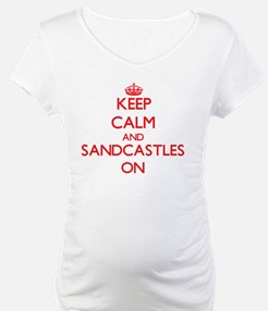Keep Calm and Sandcastles ON Shirt