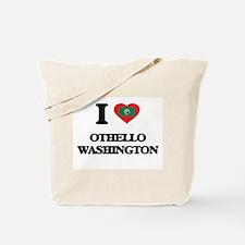 I love Othello Washington Tote Bag