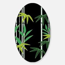 Bamboo on Black Decal