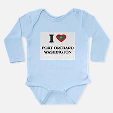 I love Port Orchard Washington Body Suit