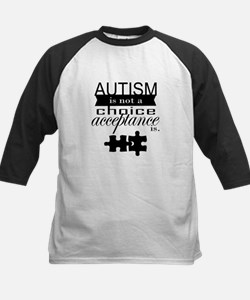 Autism is not a Choice, Acceptance is. Baseball Je