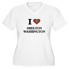 I love Shelton Washington Plus Size T-Shirt