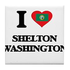 I love Shelton Washington Tile Coaster
