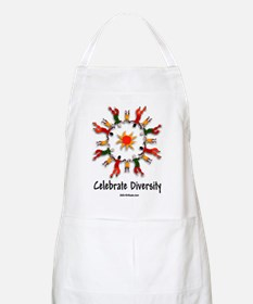 DIVERSITY PEOPLE BBQ Apron