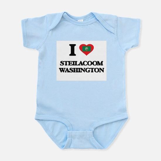 I love Steilacoom Washington Body Suit