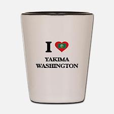 I love Yakima Washington Shot Glass