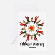 DIVERSITY PEOPLE Greeting Cards (Pk of 10)