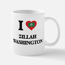 I love Zillah Washington Mugs