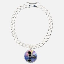 Loon on a lake Bracelet