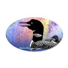 Loon on a lake Wall Decal
