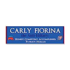 Carly Fiorina Car Magnet 10 x 3