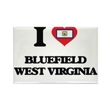 I love Bluefield West Virginia Magnets