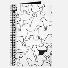 Dog Crazy! Black n White. Journal