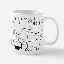 Dog Crazy! Black n White. Mug