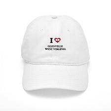 I love Glenville West Virginia Baseball Cap