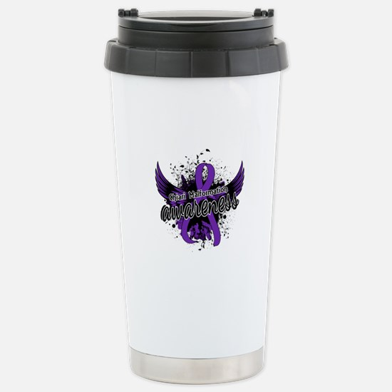 Chiari Awareness 16 Stainless Steel Travel Mug