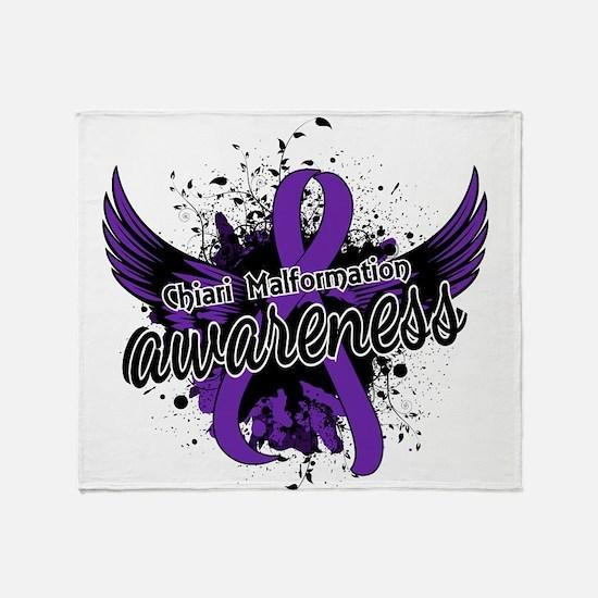 Chiari Awareness 16 Throw Blanket