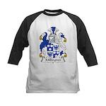 Millington Family Crest Kids Baseball Jersey