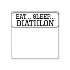 Eat Sleep Biathlon Sticker