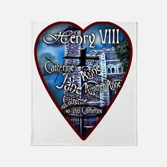 Henry VIII Makes a Valentine Throw Blanket