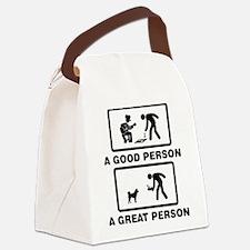 Karelian Bear Dog Canvas Lunch Bag