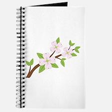 Dogwood Flowers Tree Branch Journal