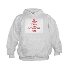 Keep Calm and Scorpions ON Hoodie