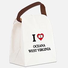 I love Oceana West Virginia Canvas Lunch Bag