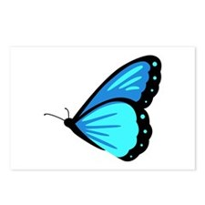 Blue Morpho Butterfly Postcards (Package of 8)
