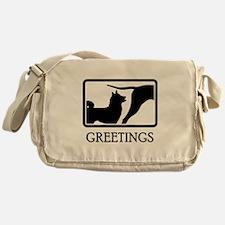Karelian Bear Dog Messenger Bag