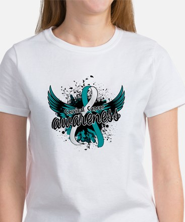 Cervical Cancer Awareness 16 Women's T-Shirt