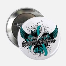 "Cervical Cancer Awareness 16 2.25"" Button"