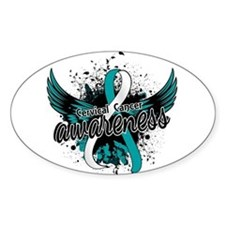 Cervical Cancer Awareness 16 Decal