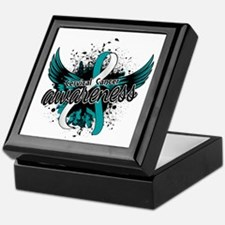 Cervical Cancer Awareness 16 Keepsake Box