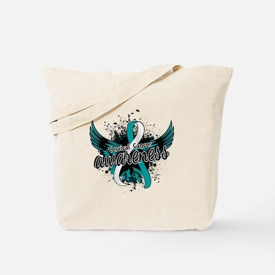 Cervical Cancer Awareness 16 Tote Bag