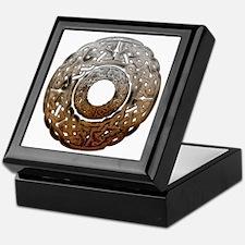 Stone Celtic Knot Circle Keepsake Box