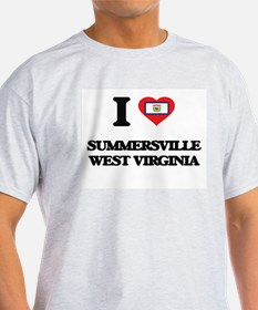 I love Summersville West Virginia T-Shirt