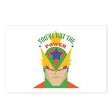 You've Got The Power Postcards (Package of 8)