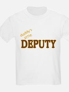 Daddy's Little Deputy T-Shirt