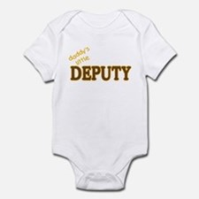 Daddy's Little Deputy Infant Bodysuit