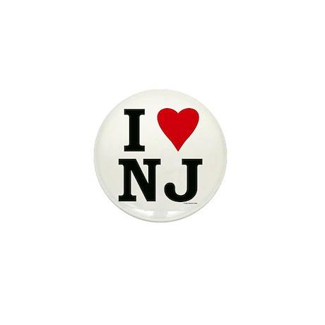 I LOVE NJ Mini Button (10 pack)