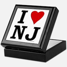 I LOVE NJ Keepsake Box
