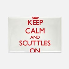 Keep Calm and Scuttles ON Magnets