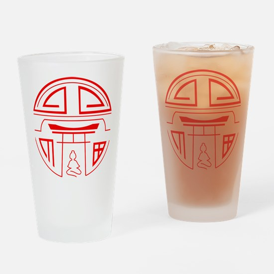 Cute Shinto Drinking Glass
